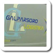 Camión de Logística Galparsoro (Gipuzkoa)