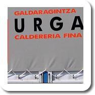 Camión de Calderería Urgain (Gipuzkoa)